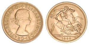 sterlina oro 1966