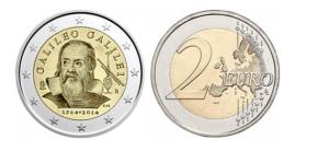 Due euro Galileo Galilei