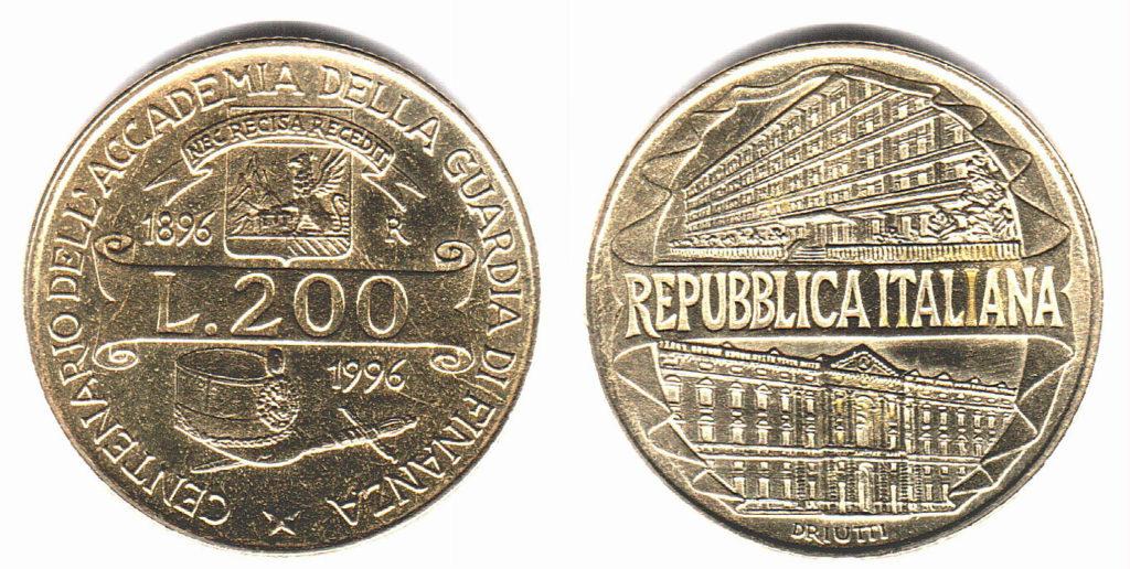 200 lire rare