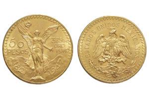 50 Pesos oro
