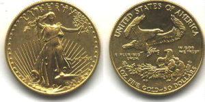 20 dollari oro